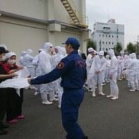 「不二製油神戸工場」防災訓練」!!「兵庫消防団」第六分団」!!その2