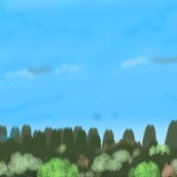 曇天くもり空 せっかく筒鳥ポンポン