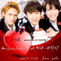 KAT-TUN☆11th Anniversary~♪