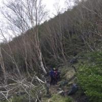 宝永山に登る。