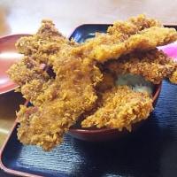 ソ-スカツ丼