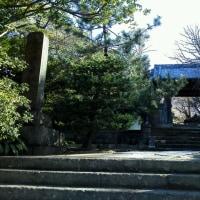日蓮の草庵跡