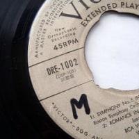 発掘!!…60年前のレコード