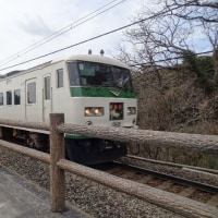 城ケ崎海岸駅には足湯があります
