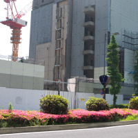 みずほ銀行前本店ビル解体工事(丸の内1-3計画) 2017年5月20日