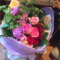 今日のお花束