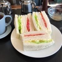 今日のお昼ご飯  タマゴミックスサンド