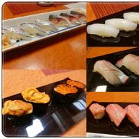 お寿司やさんでお誕生会