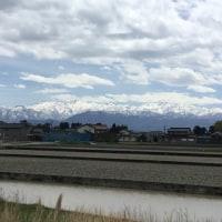 入善町からの「立山連峰」