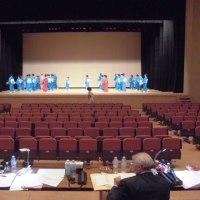 ステージスタッフ活動!舞踊リハーサル