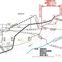 国が第2次補正で長野東バイパスに4億9800百万円を追加