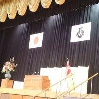 母校・白陵高校の卒業式へ