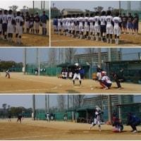 練習試合(徳島商業高校・米子松蔭高校)