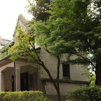 旧村井吉兵衛邸美術品倉庫(東京都立日比谷高校創立百周年記念資料館)