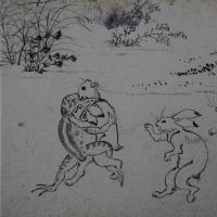 高山寺鳥獣戯画展を観る