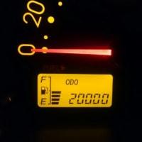 祝!20000km