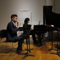 「庭~ピアノとクラリネットと篳篥の為の」米国初演!