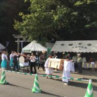 大分県杵築市大田、白鬚神社のどぶろく祭り