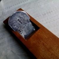 0562 一枚刃平鉋 諏訪三郎(六分)