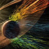 """火星を居住可能にする? 構想中の""""人工磁気フィールド""""は厚い大気や海を復活させるかも"""