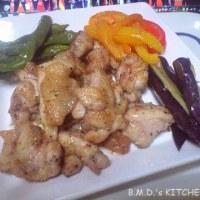 B.M.D.式 ハーブチキンと野菜のグリル