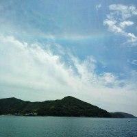 ★逆さ虹??