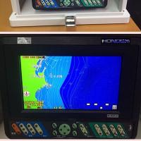 水深1000m対応、等水線や魚サイズまで表示する最新GPS魚群探知機をゲット。