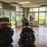 ウラノスが国立病院で病棟コンサートを行いました