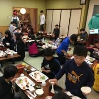 日光移動教室 第2日目 朝食