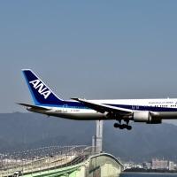 24/L アプローチ 堪能 の1日。❣️  関空 ILS 飛行検査実施で着陸はA滑走路へ集中。No.3