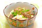 牛の大和煮缶で 肉豆腐 ☆