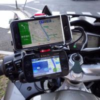 iPhoneをバイクナビとして使う。(携帯ホルダー)