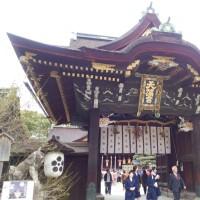 「二十二社巡り」北野天満宮・京都市上京区にある神社。旧称は北野神社。二十二社(下八社)の一社。旧社格は官幣中社。