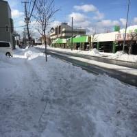大雪、5年ぶりの雪かきが楽しいですぅ。