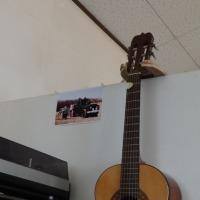 手作りギターフック