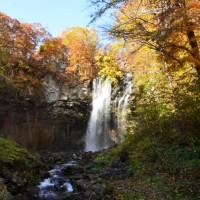 アシリベツの滝と白扇の滝とレンズ修理