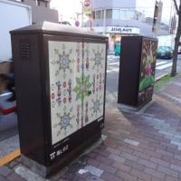 街路灯の変圧器