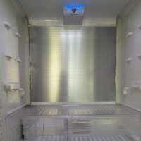 冷蔵庫と電気の傘の掃除