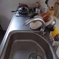 手洗い洗濯と洗い物