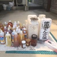 第131回使用済み天ぷら油の回収