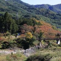 水上温泉 諏訪峡の紅葉2016