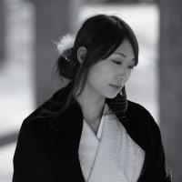 冬の蝶~モノクローム編... (如月遥菜 さん) -ポートレート-