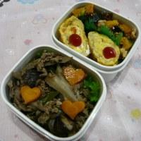 お弁当(牛肉&ごぼうのしぐれ煮)