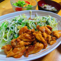 鶏モモの酢煮