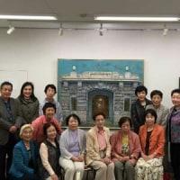 🎵 大阪マルビルの 「 咲くら 」 でランチ会ののち、 病友の展覧会を楽しむ