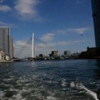 隅田川下り/ 浅草~日の出桟橋       2016-10-12