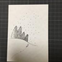 2016年 冬のイラストポストカード