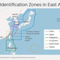 中国が退去命令、米爆撃機は応じず 東シナ海上空