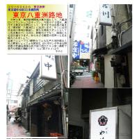 散策 「商店街ー263」 東京八重洲路地