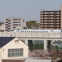 九州新幹線高架下工事(熊本市・一新踏切)8